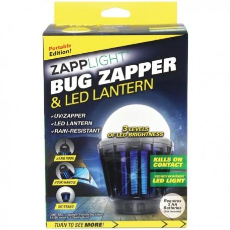 Latarka LED z pułapką elektryczną UV przeciw komarom i innym insektom latającym - INSEKT KILLER LANTERN